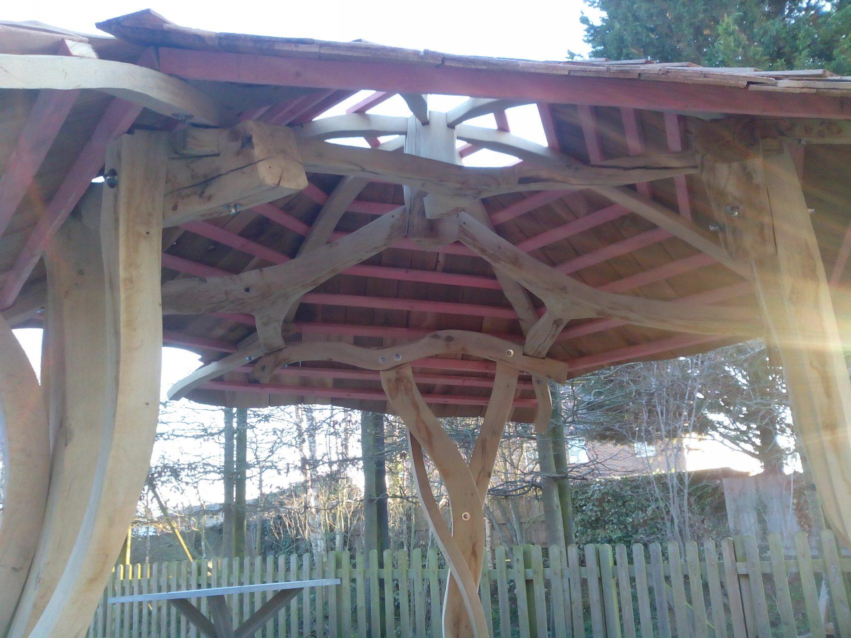 Thame shelter inside