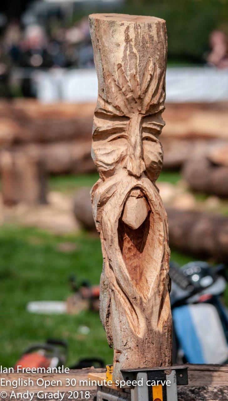 speed carve brown oak